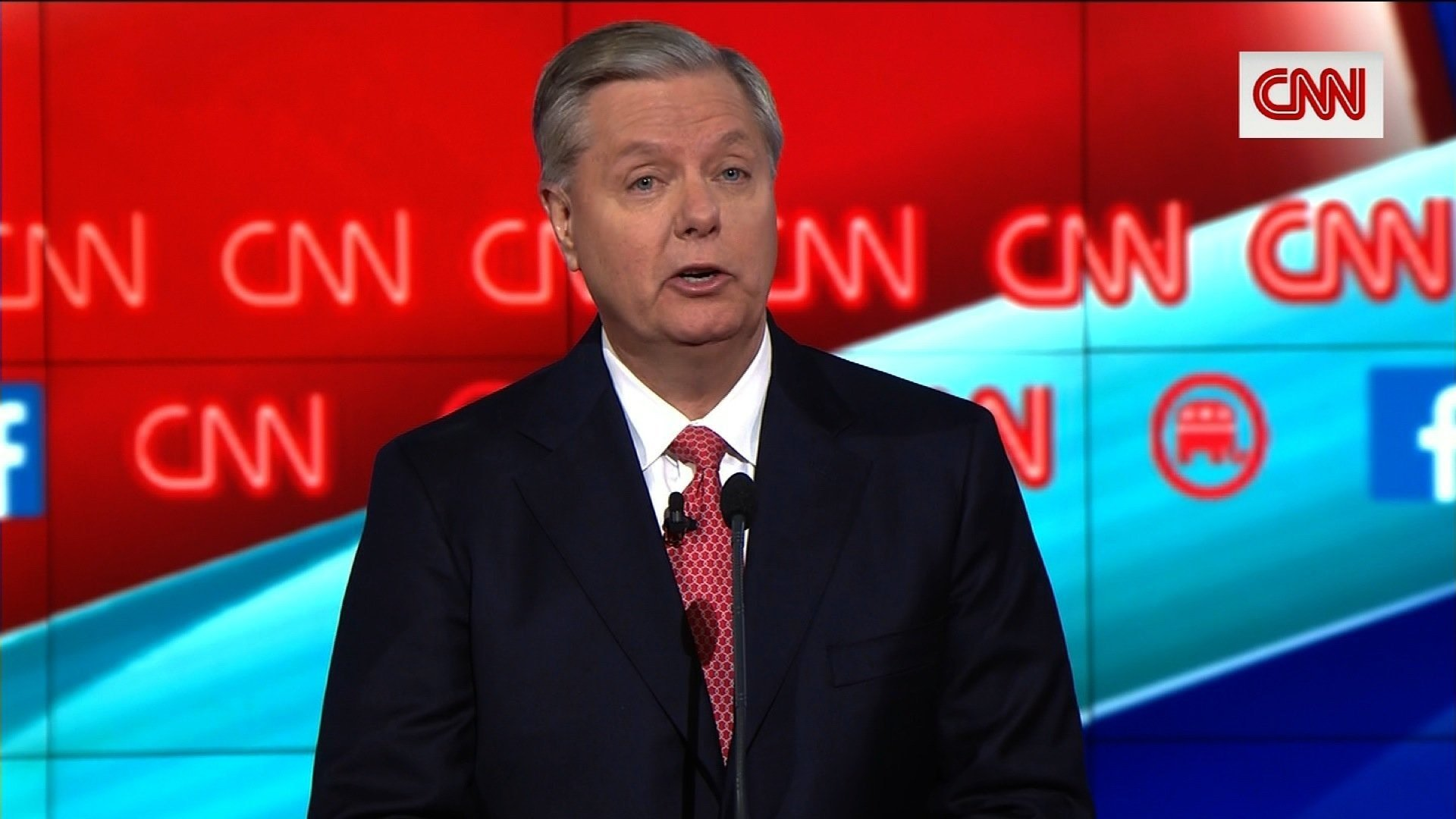 Lindsey Graham sort of endorses Ted Cruz