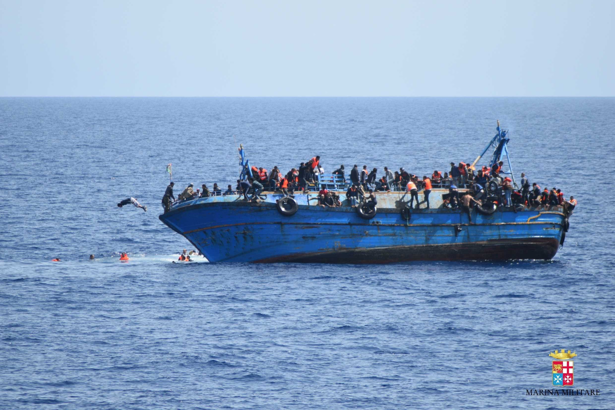 Migrants Drown as Boats Sink Off Libyan Coast