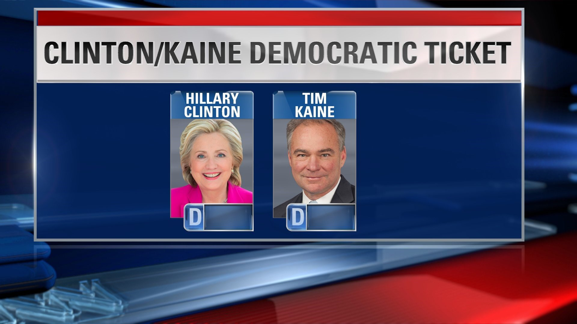 Tim Kaine accepts Democratic nomination for vice president