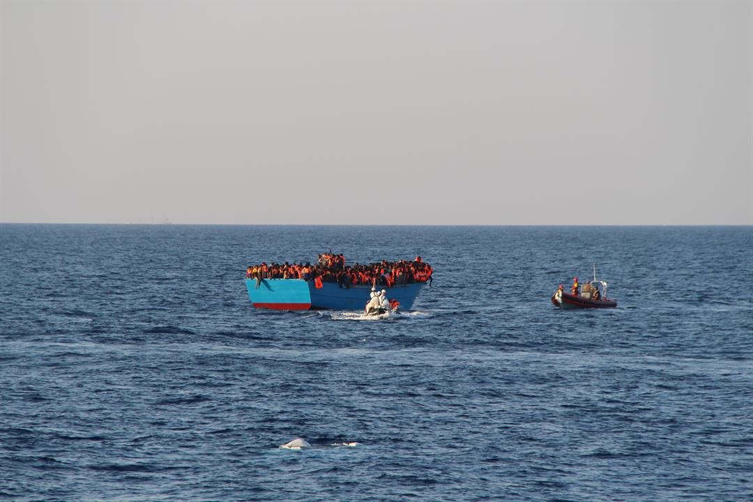 Italy Rescues 3000 Migrants In One Day, 10000 In Two Days