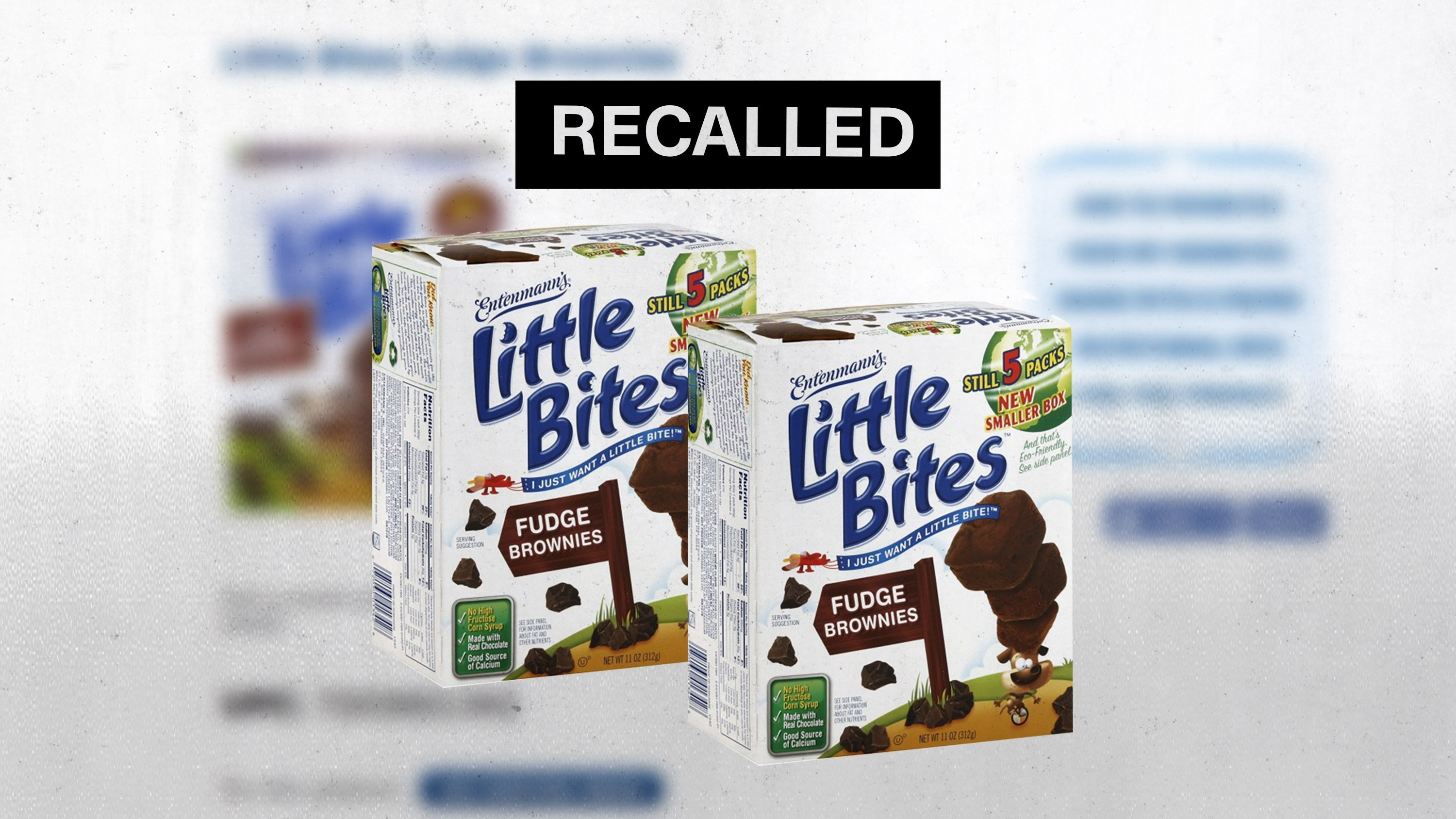 Entenmann's recalls Little Bite snacks for plastic contamination