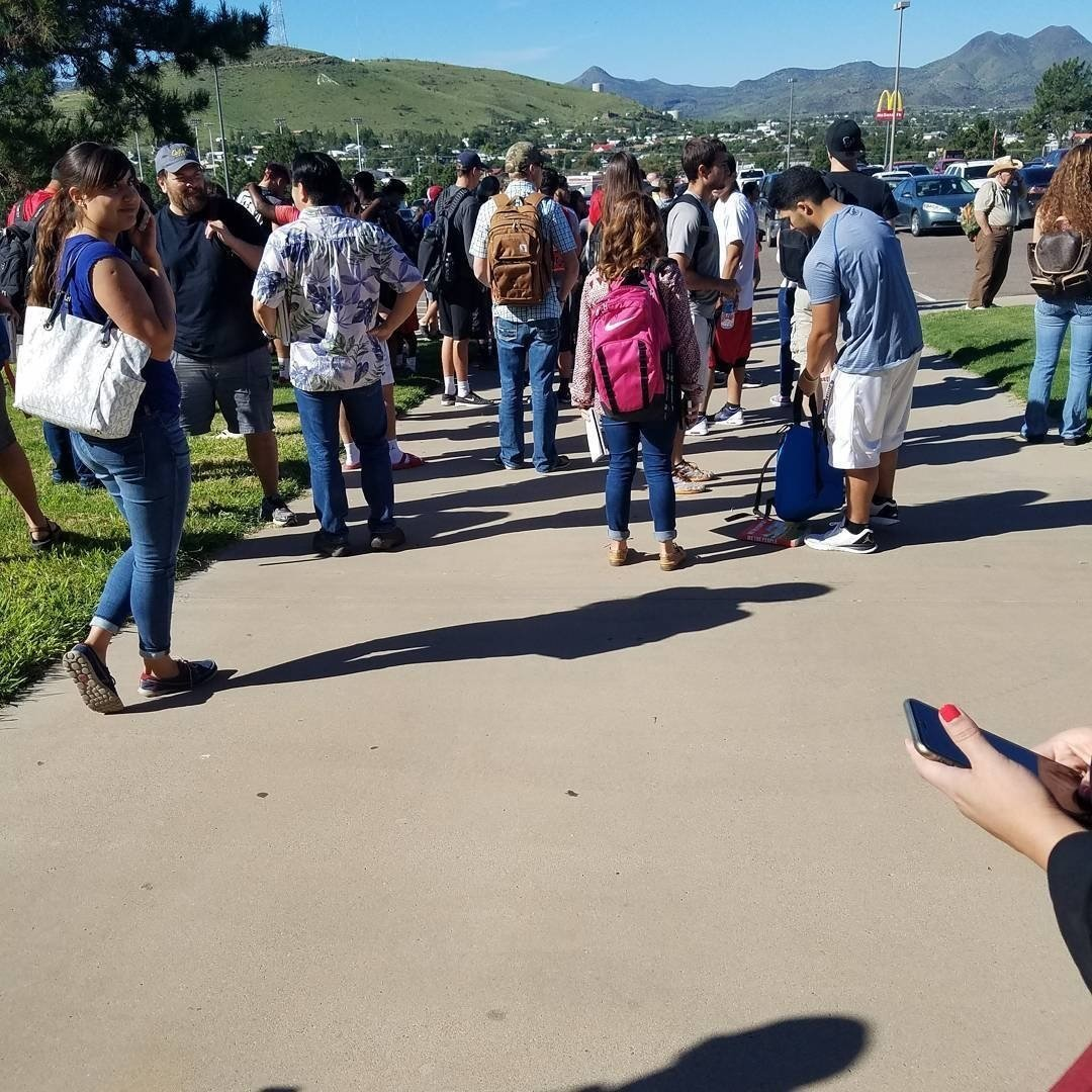 Student injured, shooter dead at Texas high school, reports say