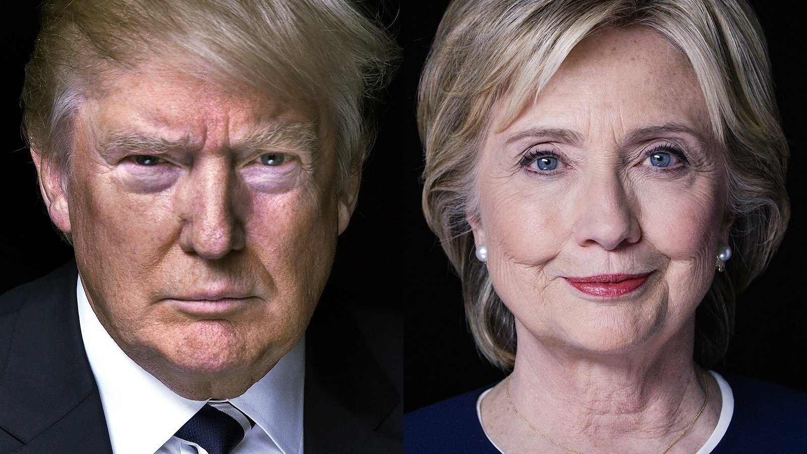 Presidential candidates Donald Trump and Hillary Clinton