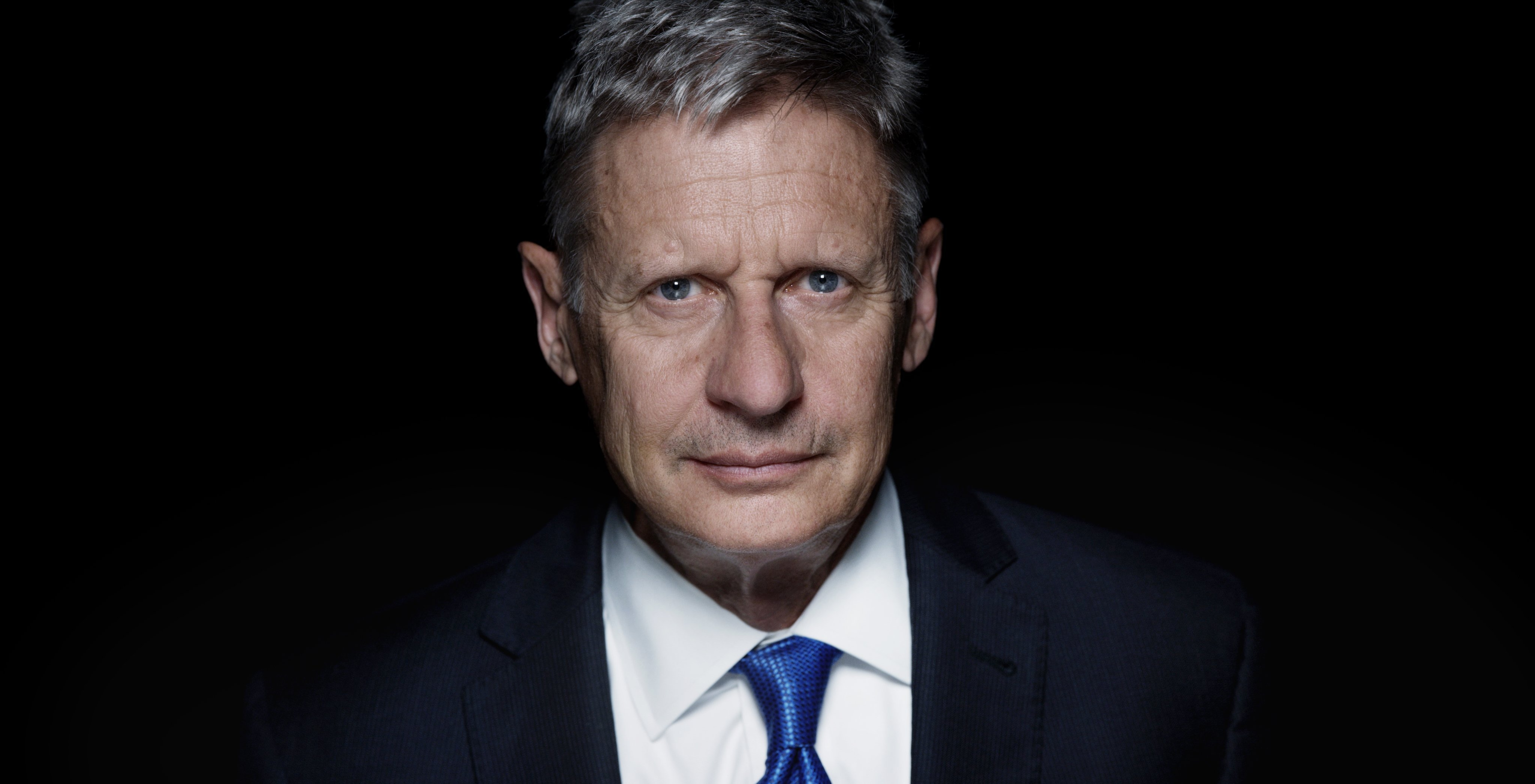 Libertarian Gary Johnson campaigns in Seattle