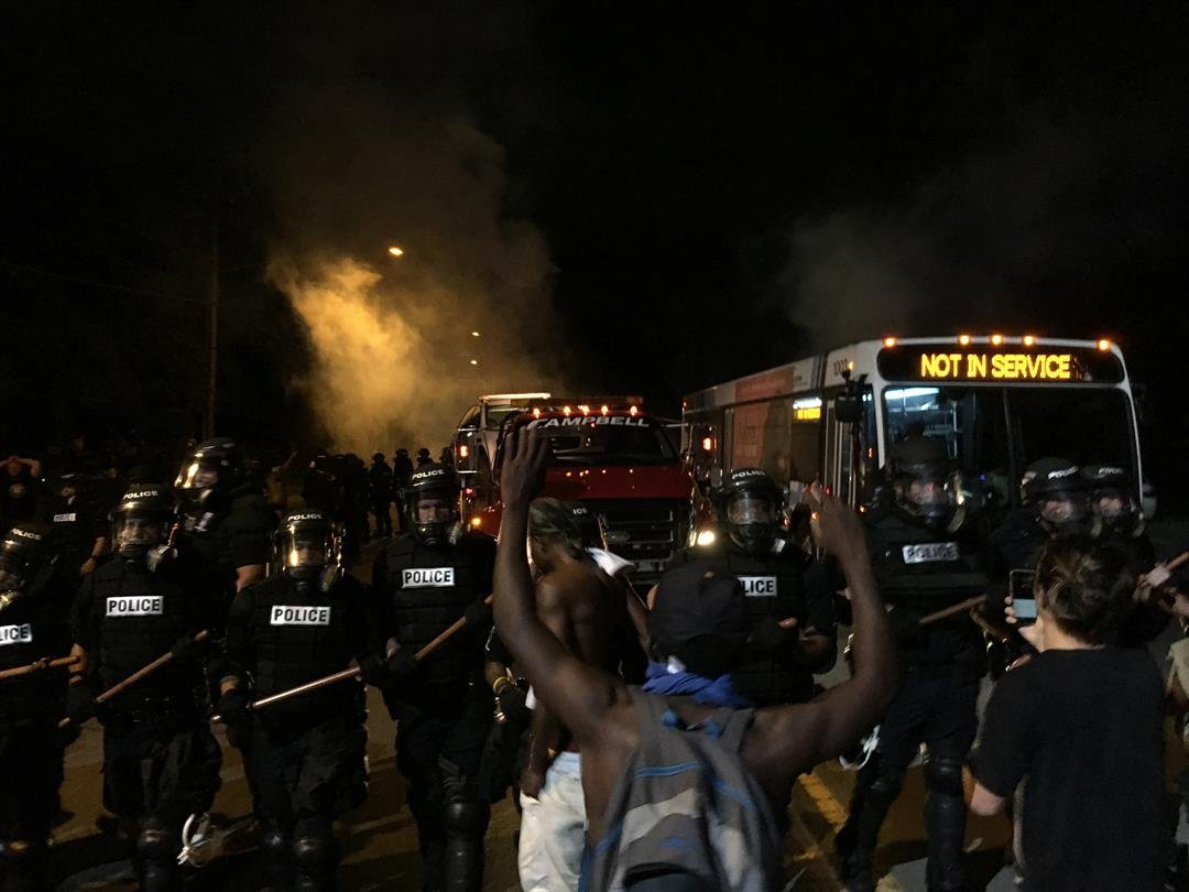 12 officers hurt in North Carolina riots sparked by shooting of man
