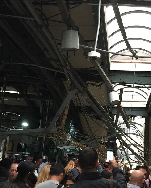 Train crashes at New Jersey station; 1 dead, 74 hospitalized