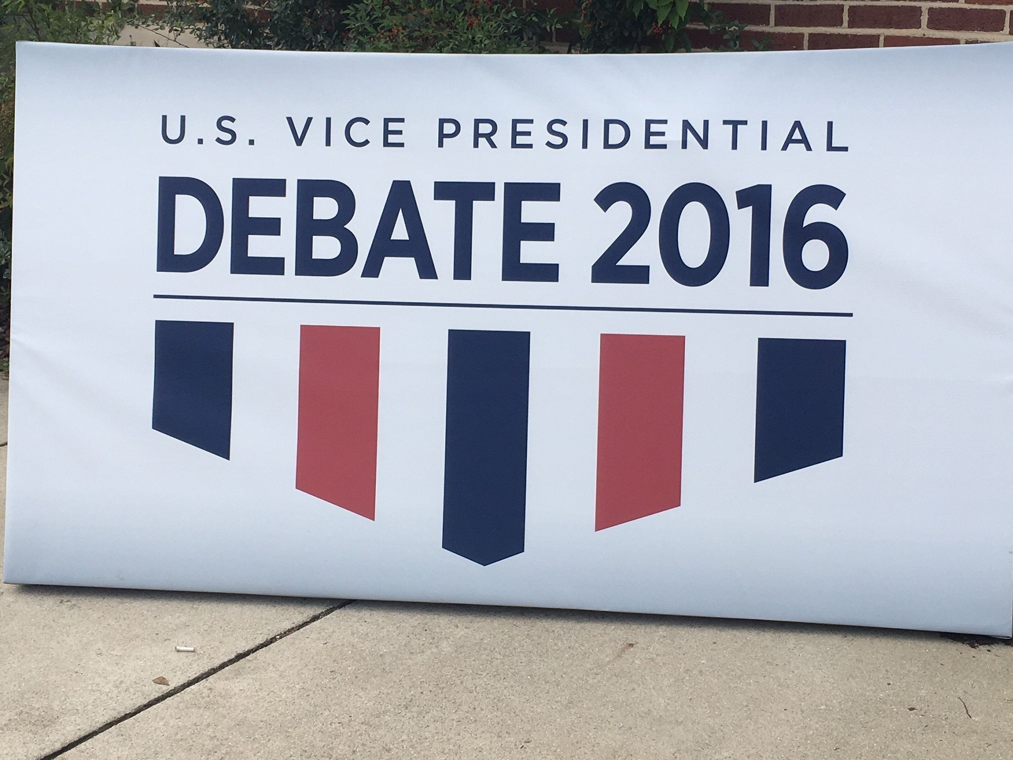 Vice Presidential Debate Between Mike Pence and Tim Kaine