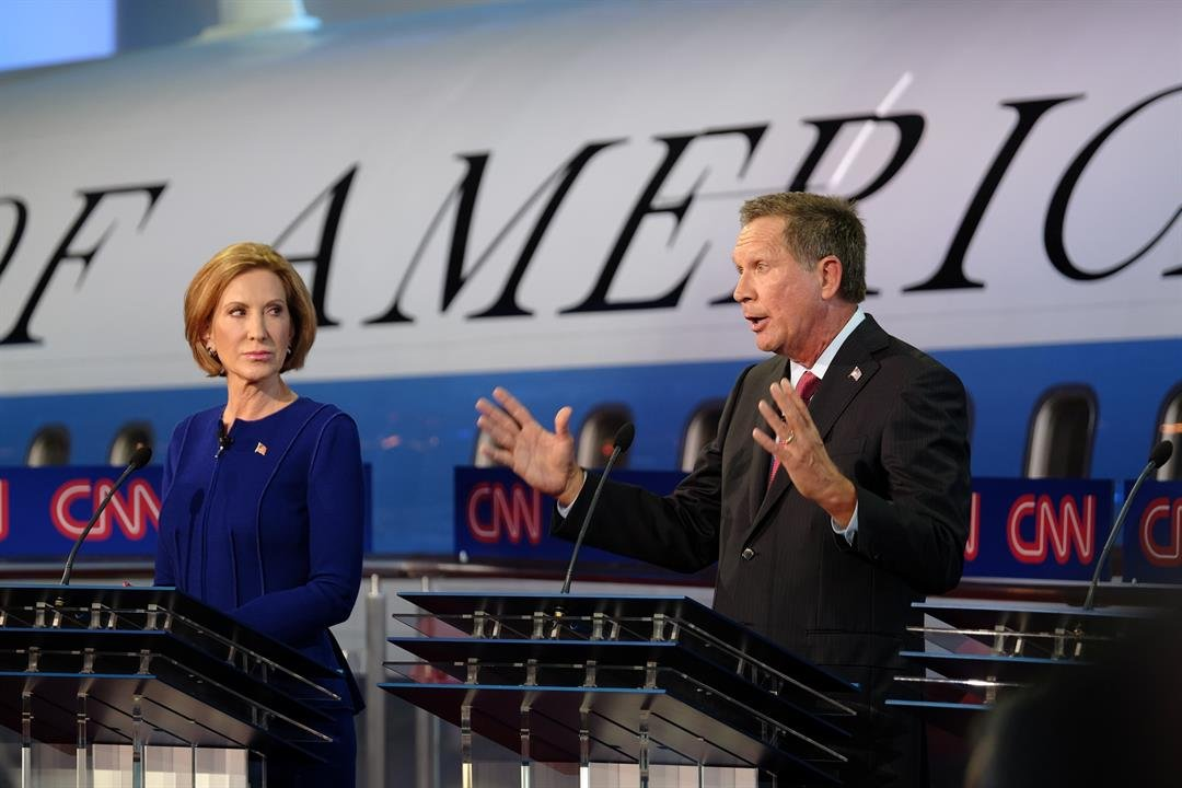 Gilmore, Santorum Rip Kasich For Not Supporting Trump