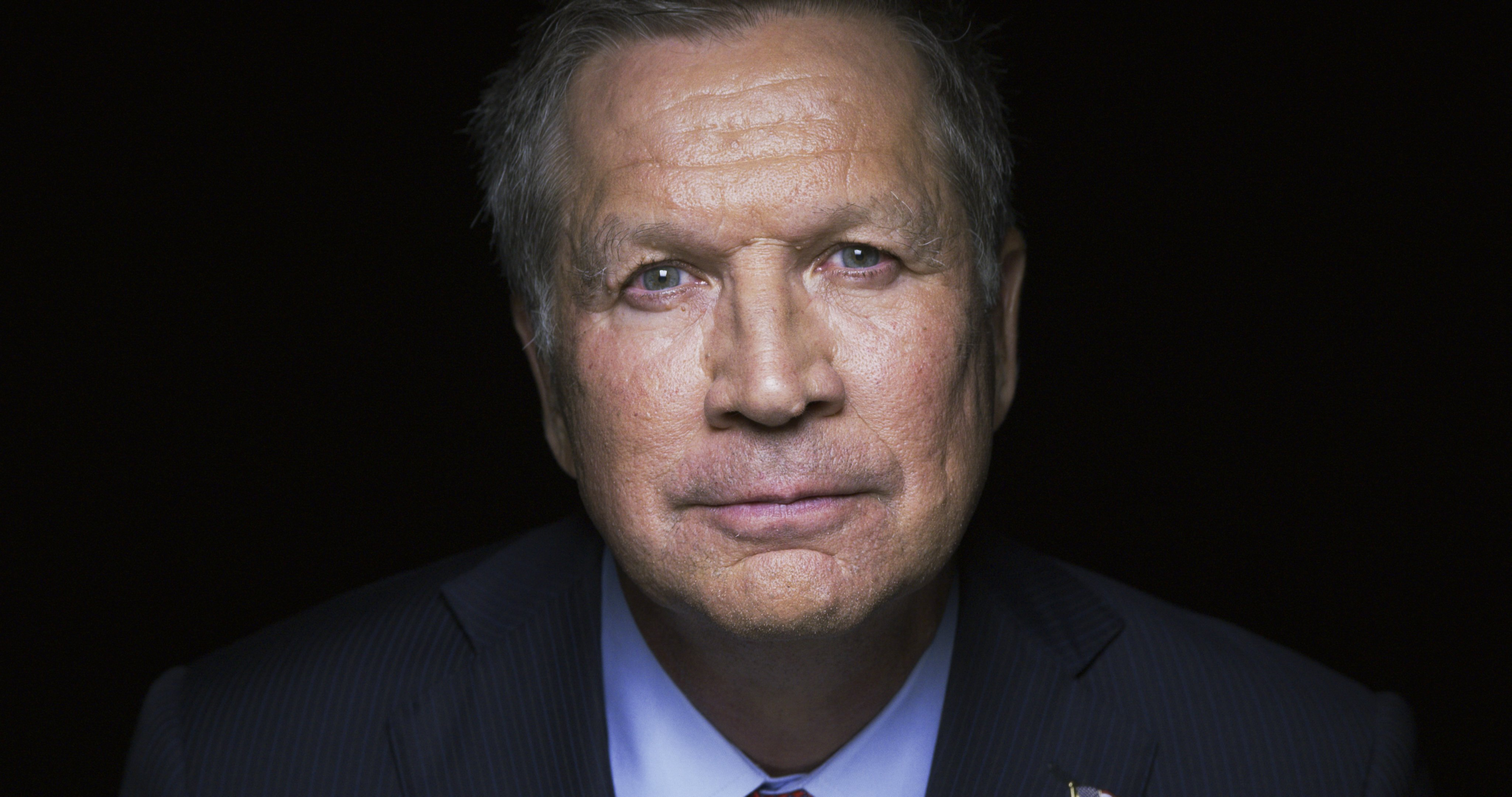 John Kasich Votes Republican, But Not for Trump