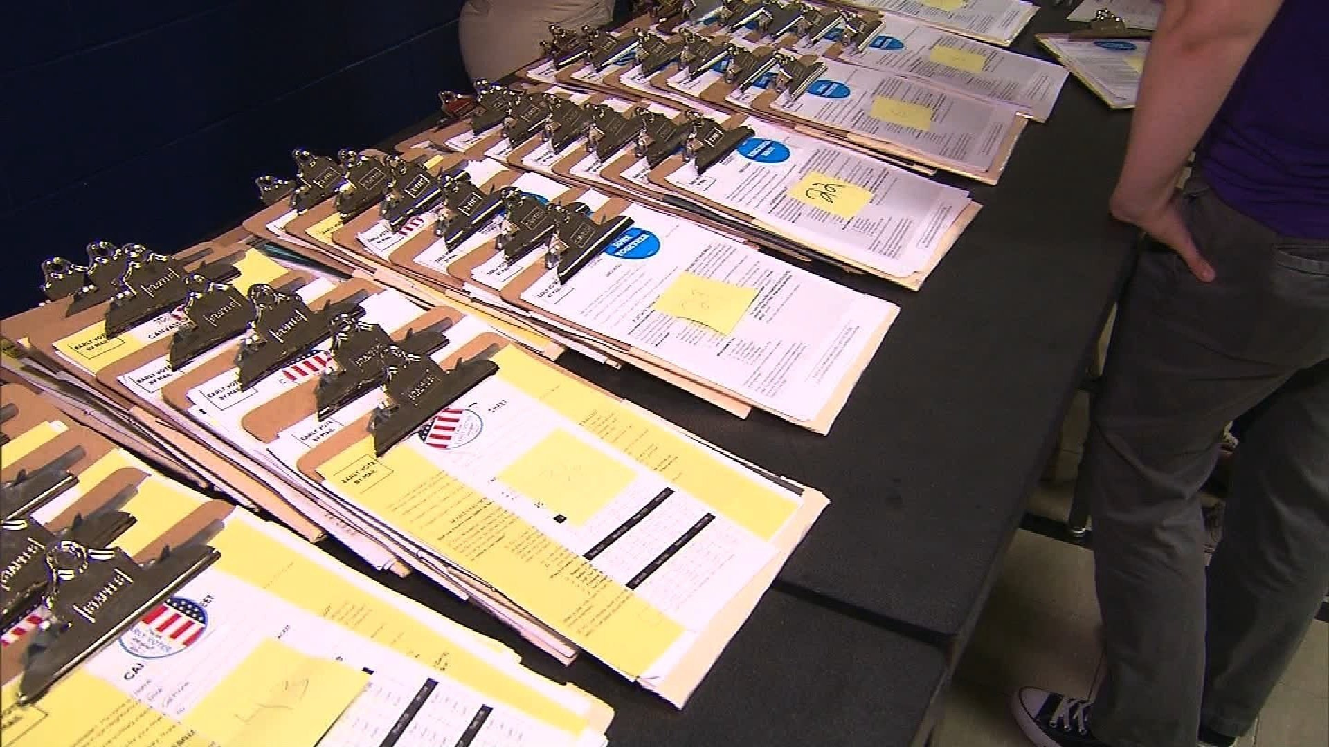 Federal judge rejects voter intimidation arguments
