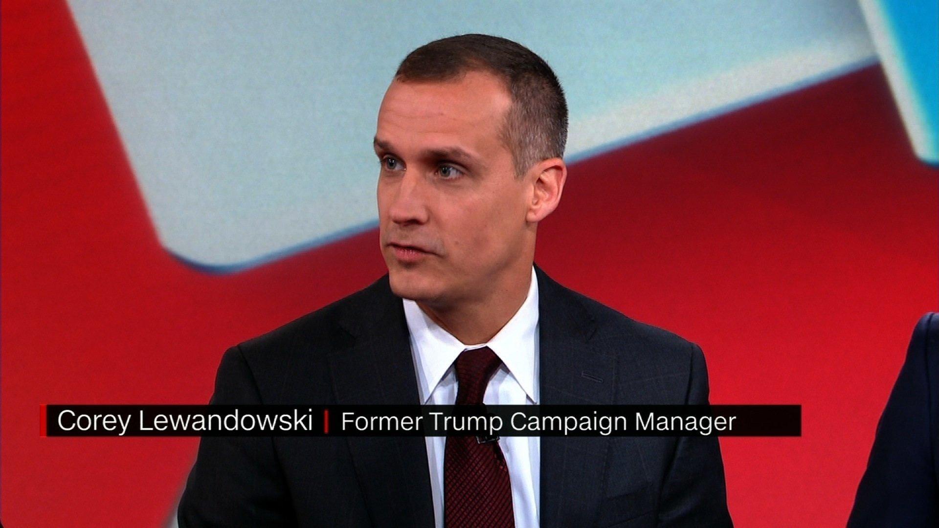 Corey Lewandowski, former Trump campaign manager, leaves CNN