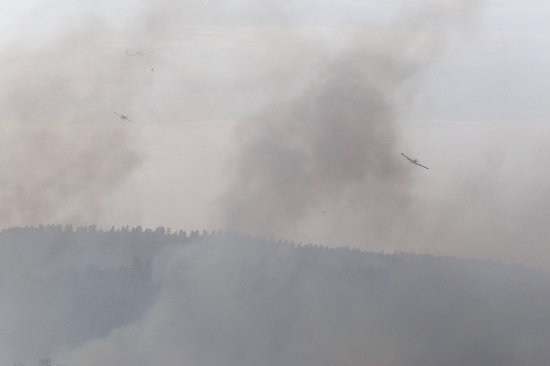 Israel enlists help from allies as fires rage across country