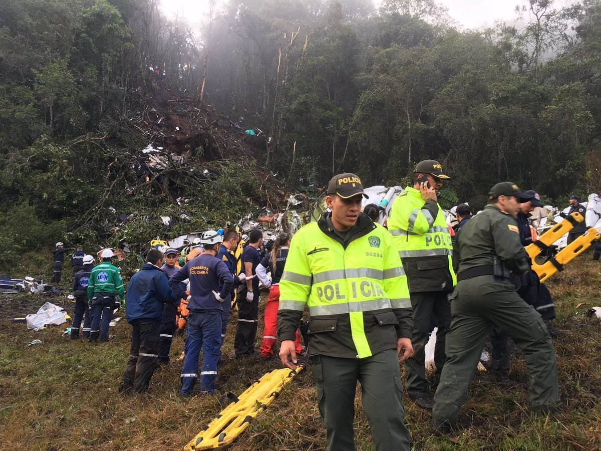 Massive funeral held in Brazil for team killed in plane crash
