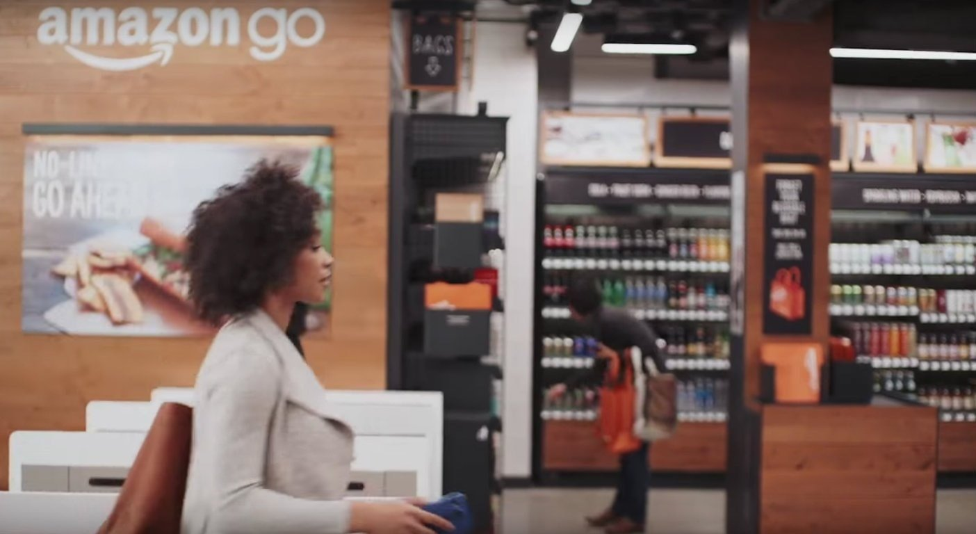 Here we go. Amazon reveals physical grocery store