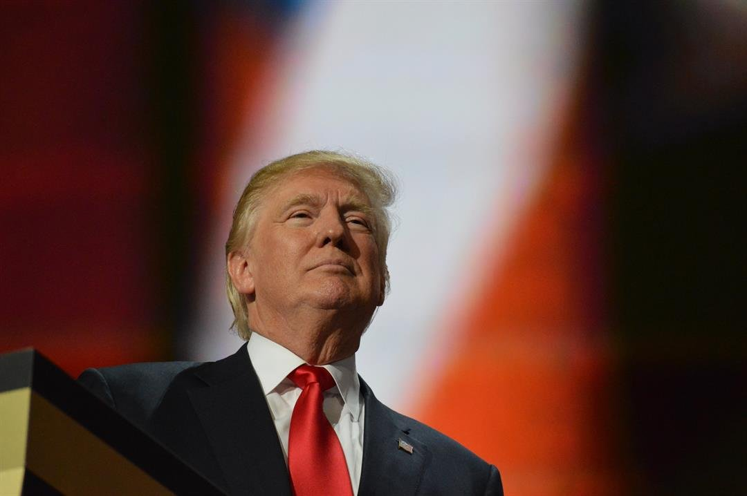 President Elect Trump speaking after he accepted the nomination for president of the United States at the Republican National Convention in Cleveland Ohio on Thursday