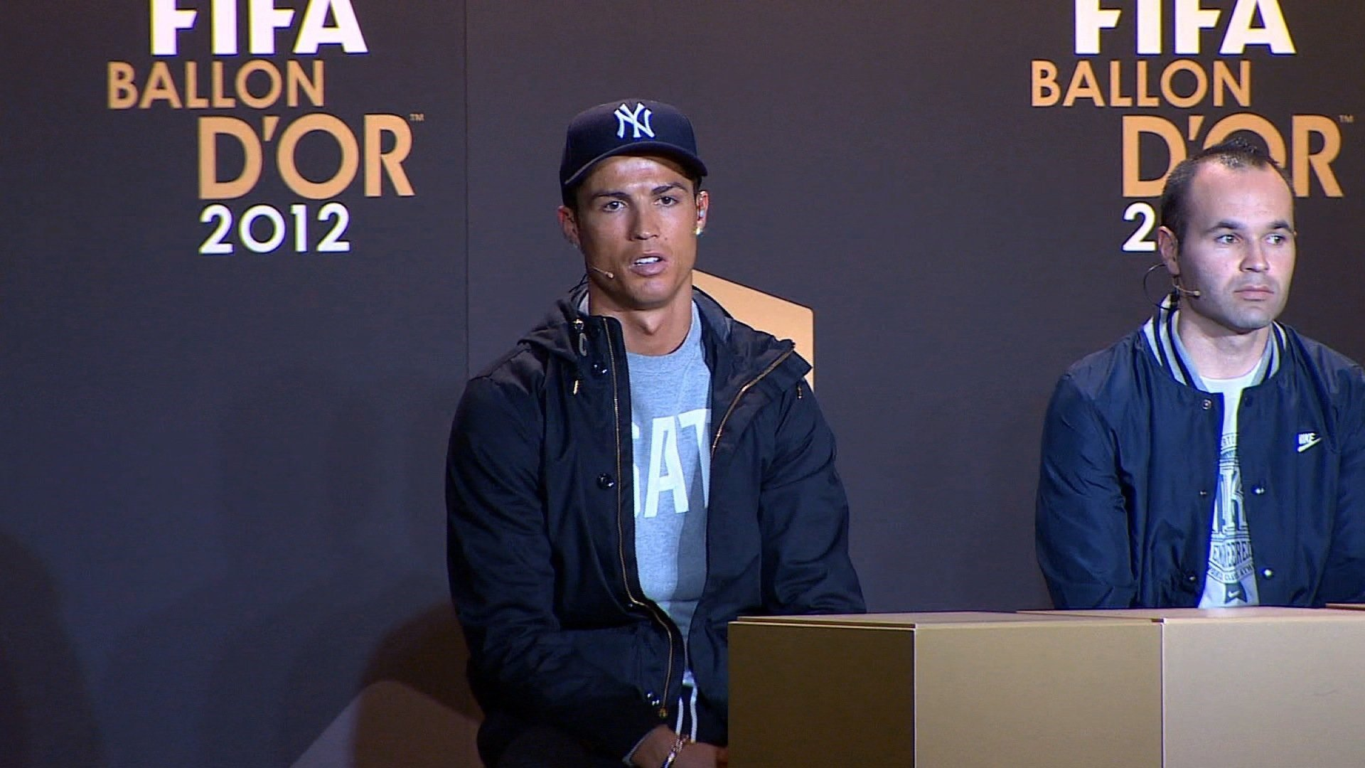 Cristiano Ronaldo wins his fourth Ballon d'Or award