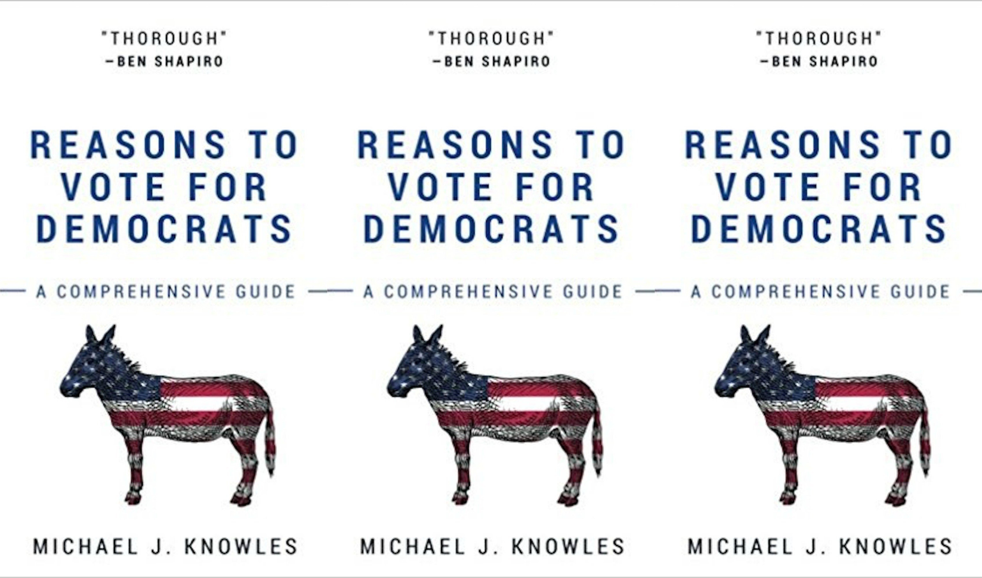 Blank Book on 'Reasons to Vote for Democrats' Becomes Amazon Best-Seller