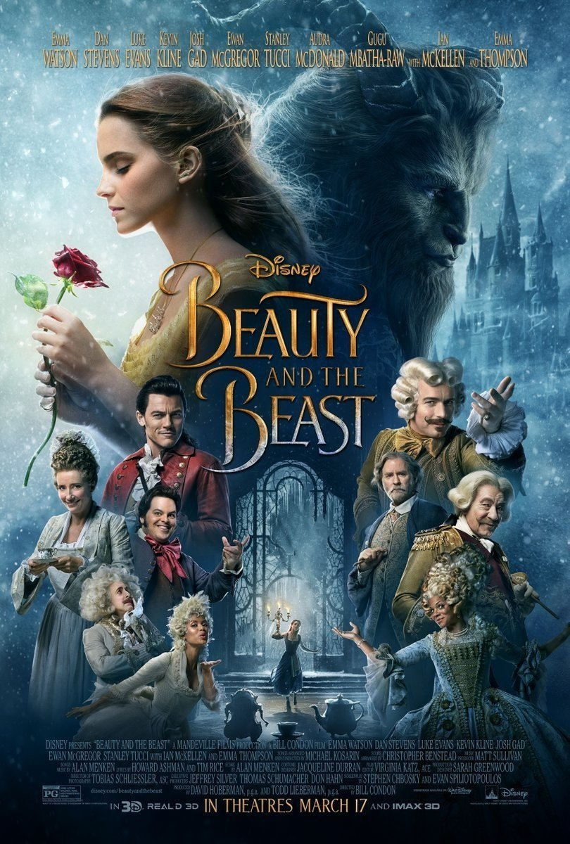 "The live-action version of ""Beauty and the Beast"" earned 350 million dollars worldwide, with 170 million dollars from theaters in North America."