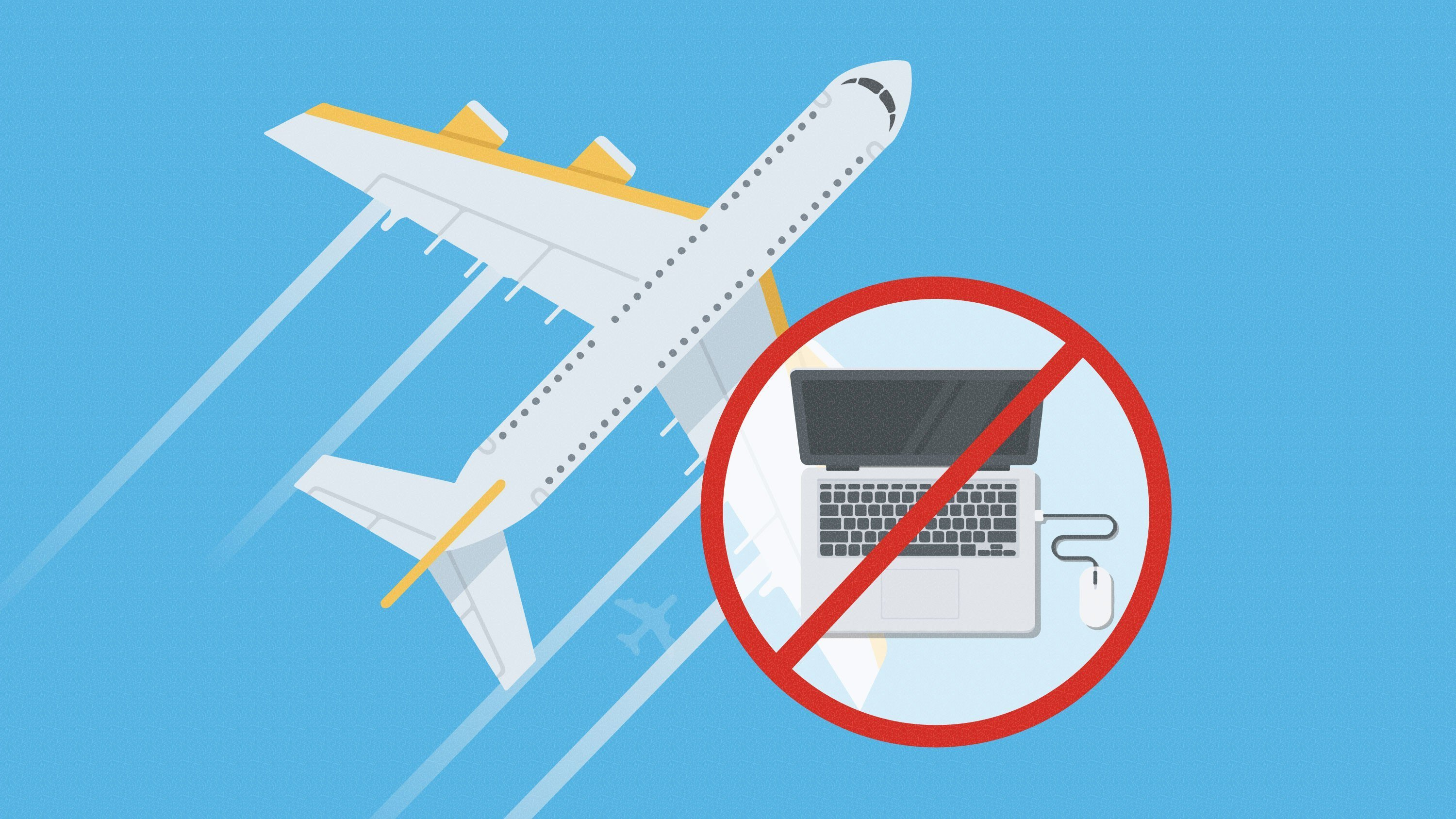 Airlines that fly from certain countries in the Middle East and Africa to the U.S. must require passengers to check in almost all electronic devices rather than carry them into the cabin, said a U.S. official.