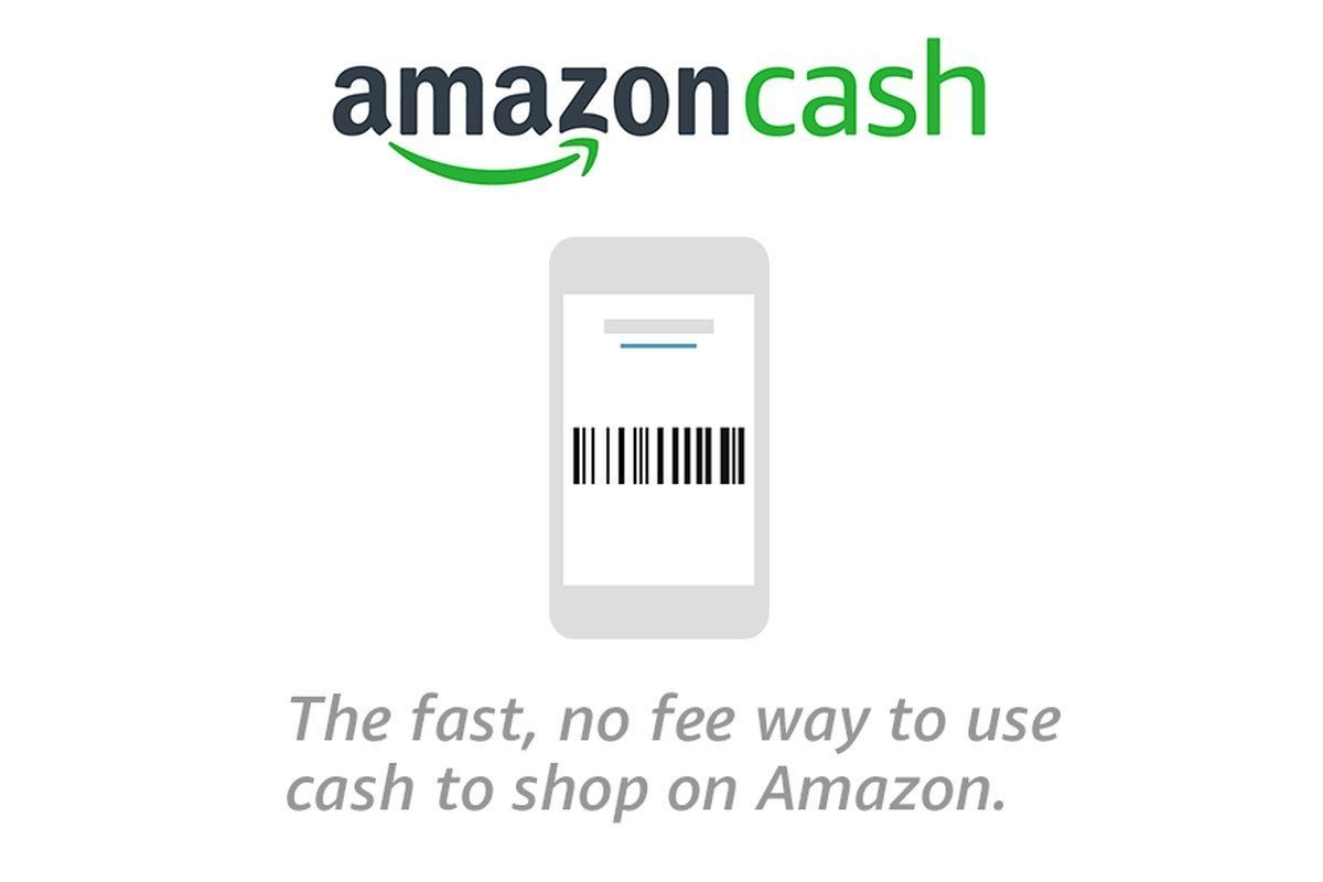 Use Amazon Cash to shop online without a bank card