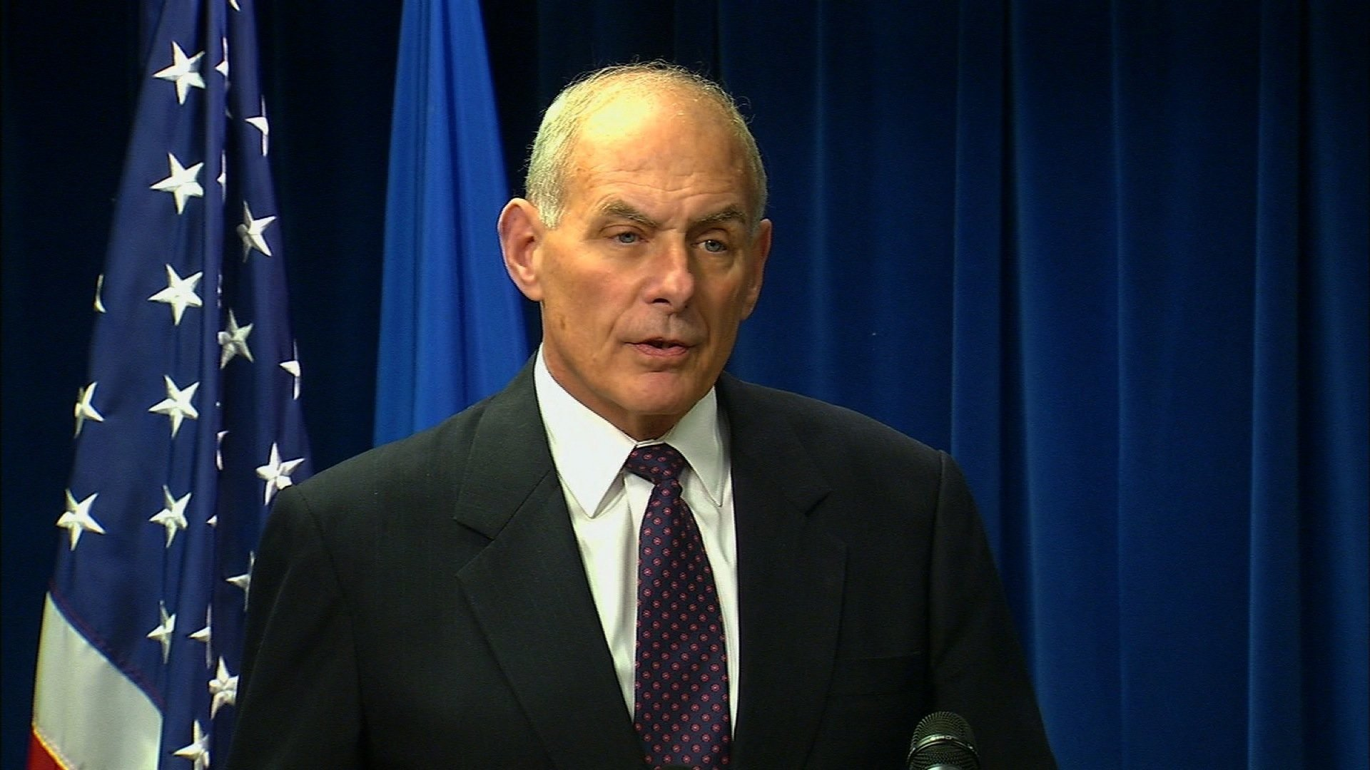 Illegal migration at United States border at lowest point in 17 years- Kelly