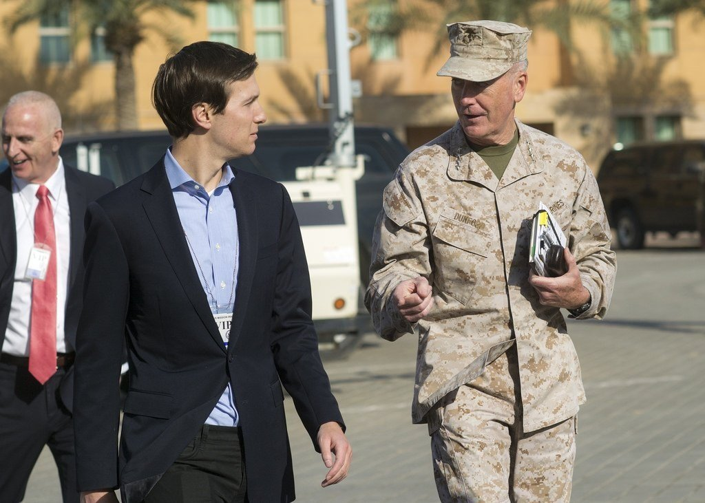 Kushner arrives in Iraq with Joint Chiefs chairman for visit