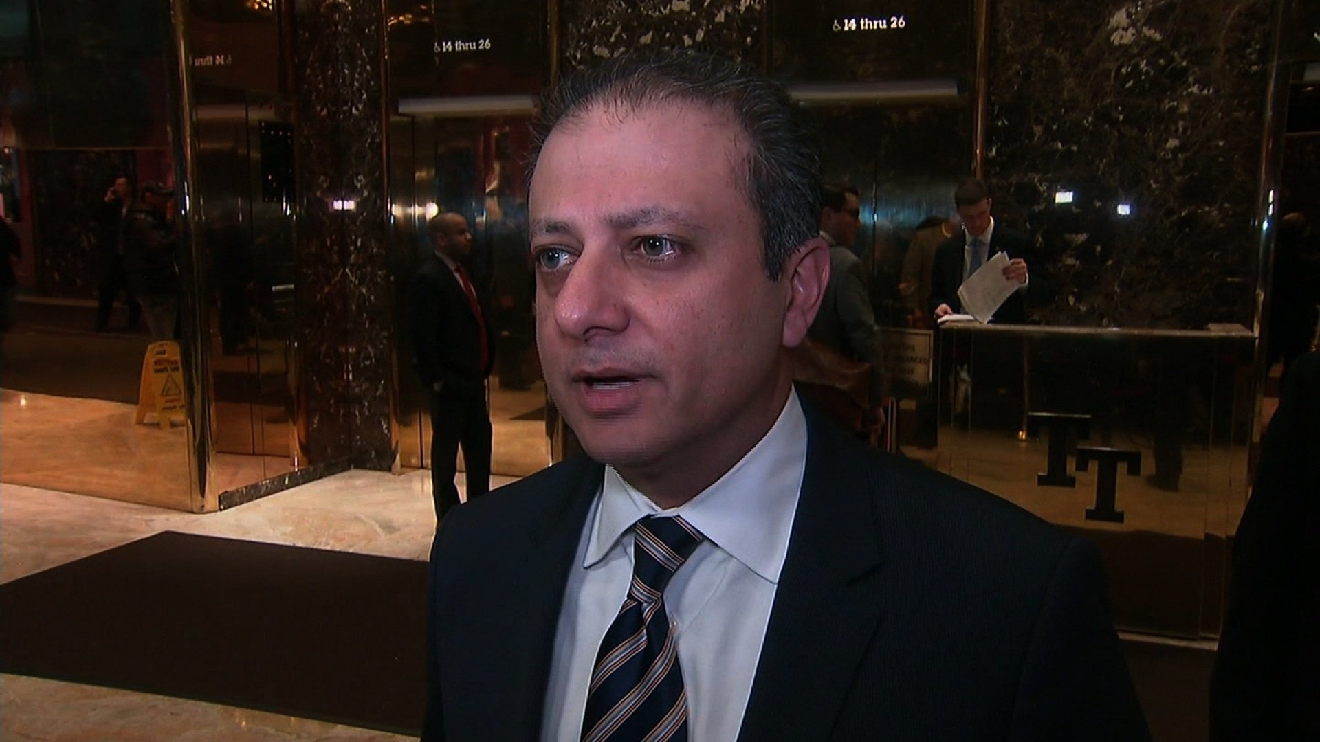 Preet Bharara has no plans to join politics, nor the circus