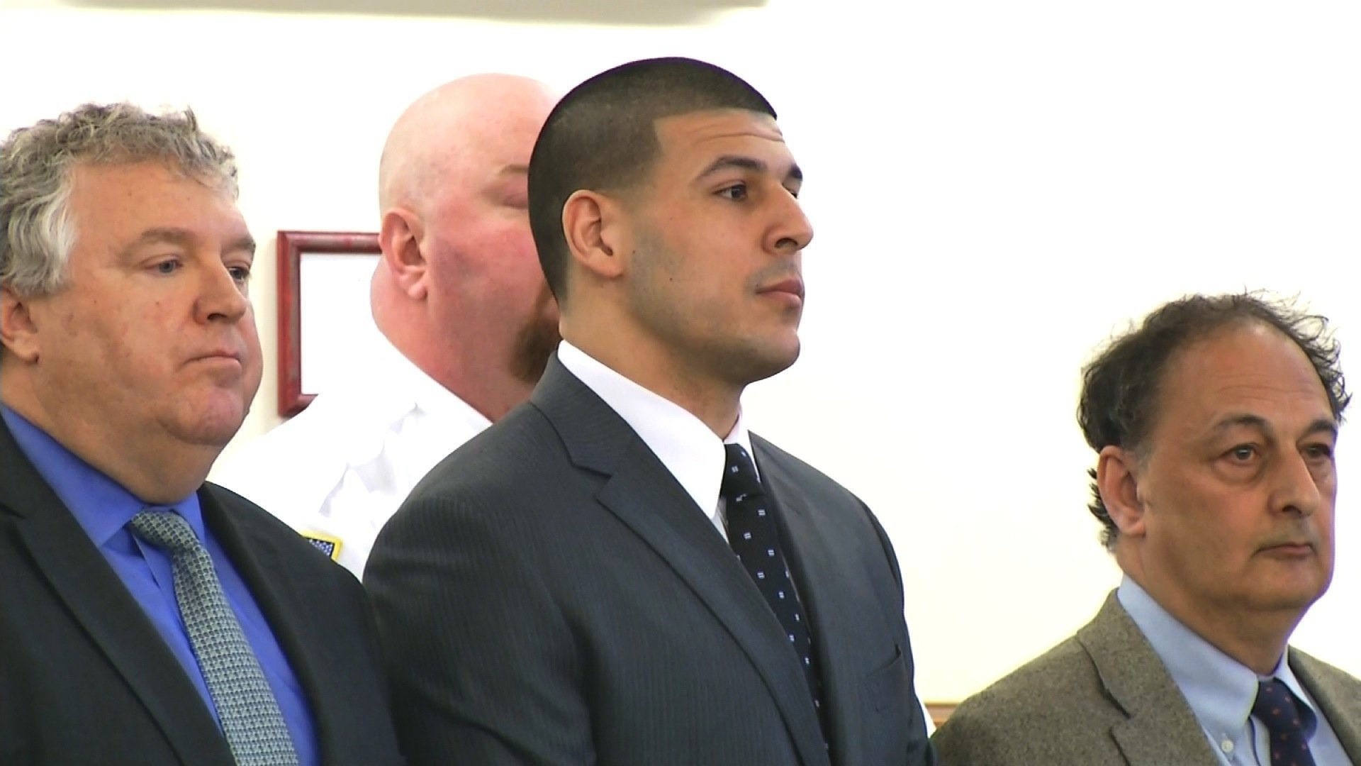 Convicted murderer and former NFL star Aaron Hernandez was found hanged in his Massachusetts prison cell April 19th, 2017, officials said, just days after he was acquitted in a separate murder case.