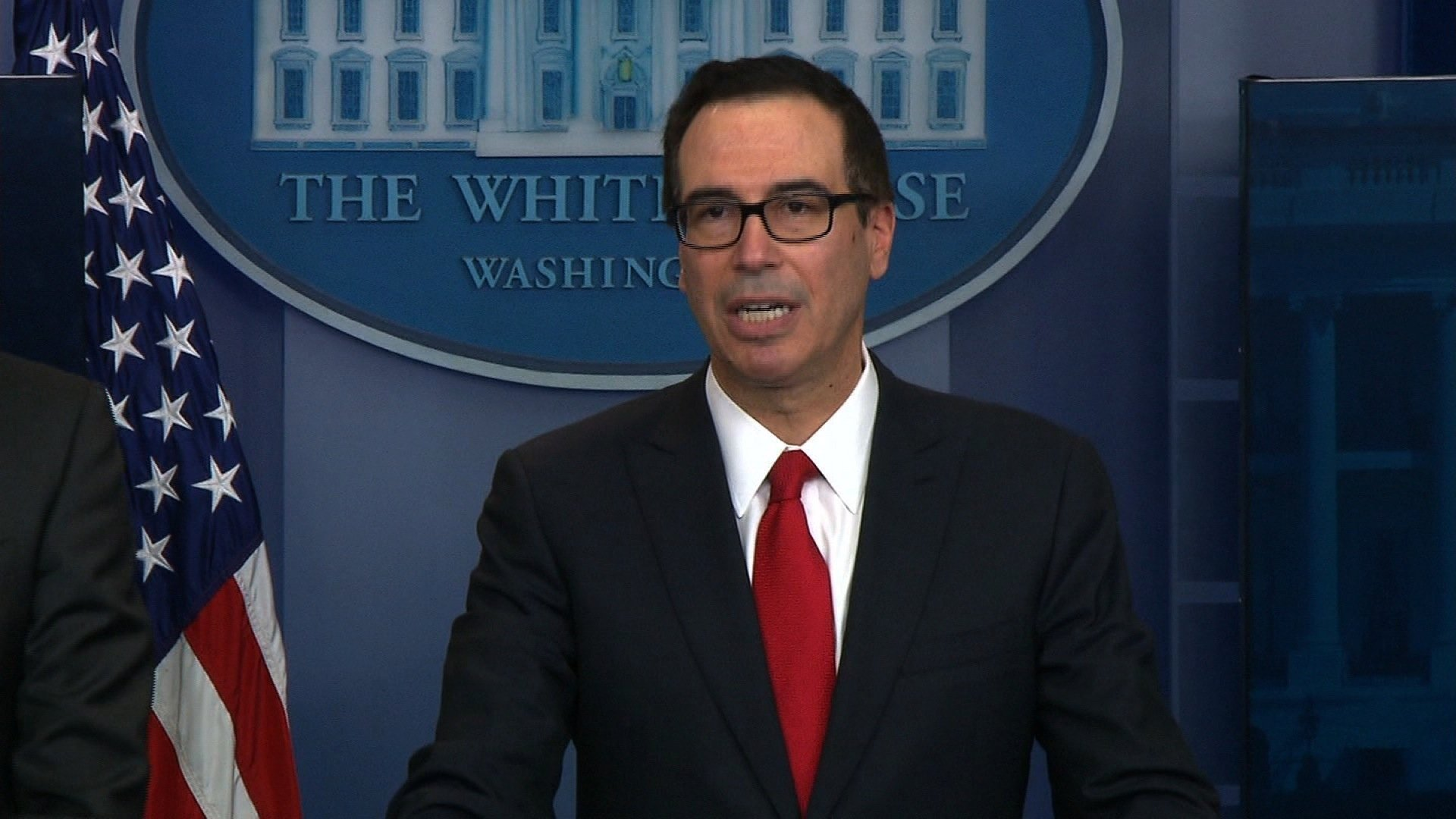 Mnuchin can't promise plan won't raise taxes on middle class