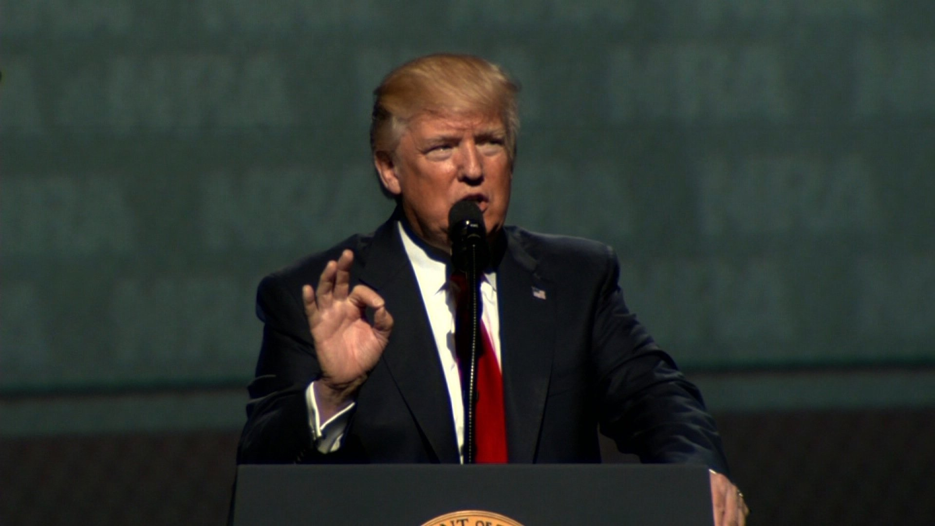 President Trump Vows To Never Infringe On Right To Bear Arms