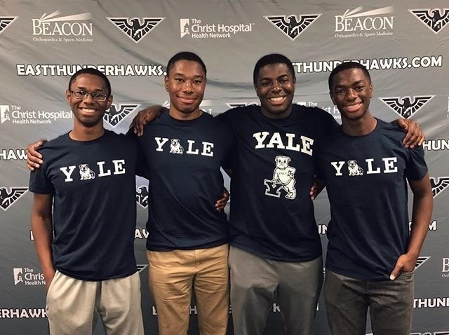 OH quadruplets all commit to Yale