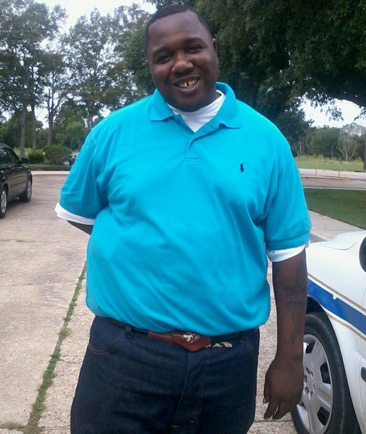 Alton Sterling 37 was killed by police outside the Triple S Food Mart in Baton Rouge Louisiana