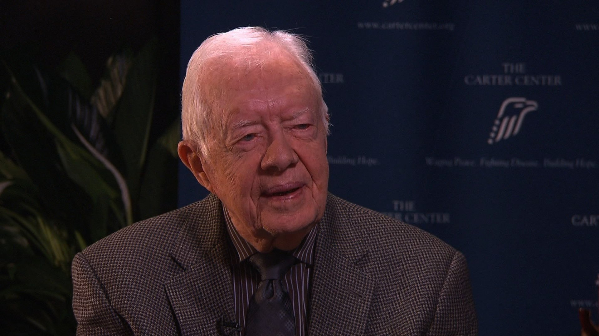 Carter warns against US relaxing emphasis on human rights