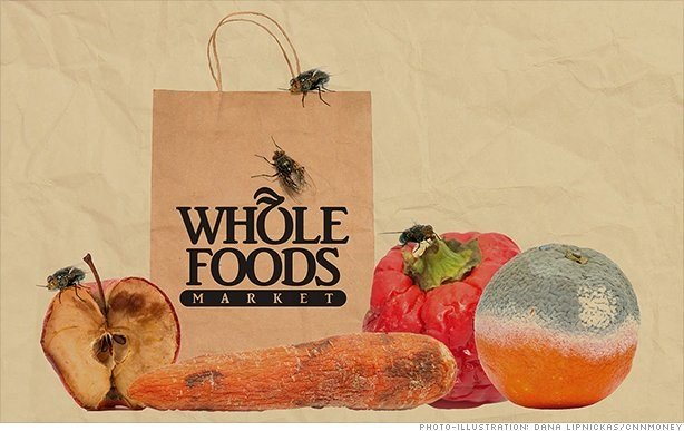 Whole Foods plans cost-cutting as store sales fall again