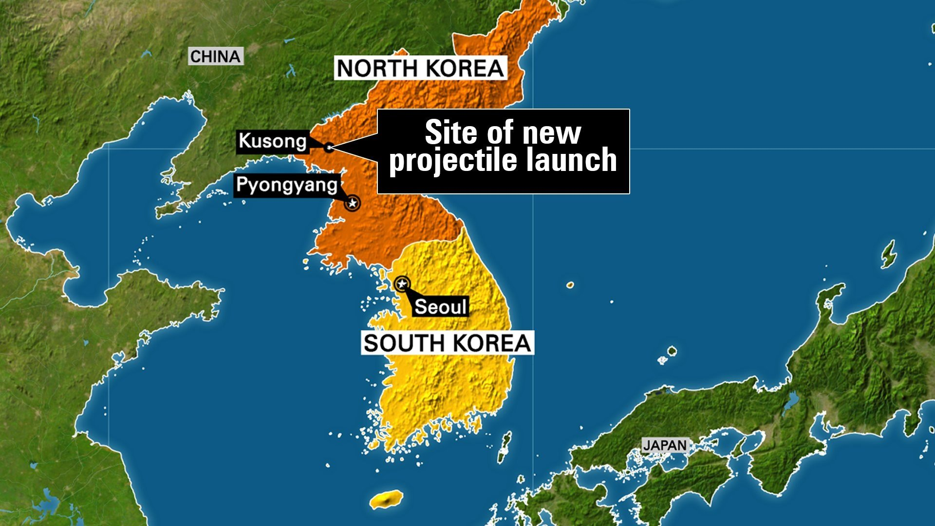 North Korea launched a ballistic missile from the northwestern part of the country early Sunday the South Korean Joints Chief of Staff said