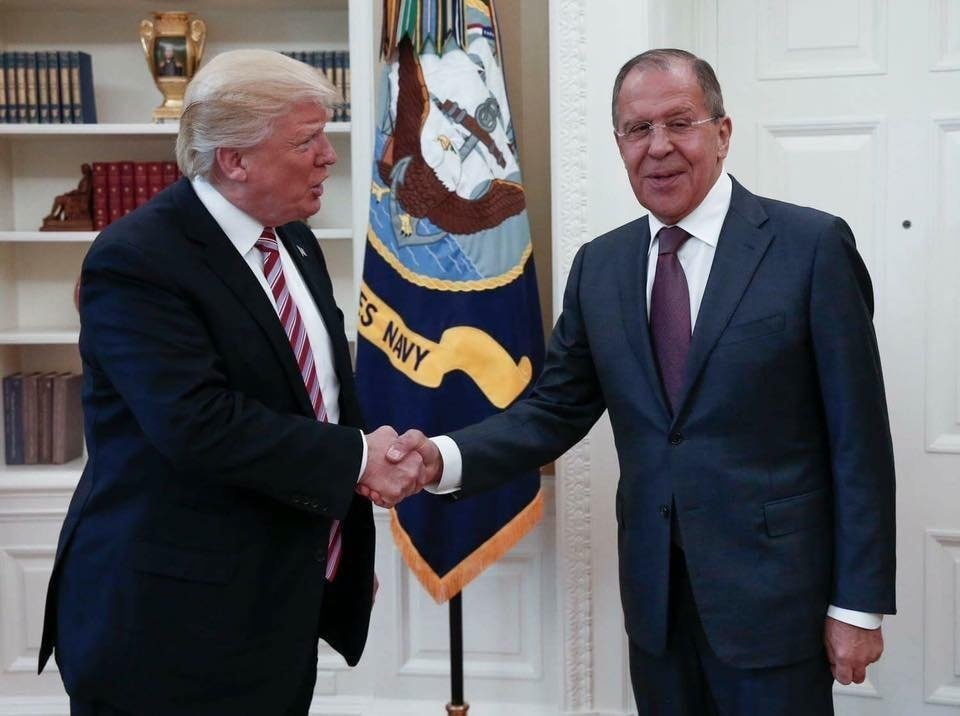 Trump acknowledges 'facts' shared with Russian envoys