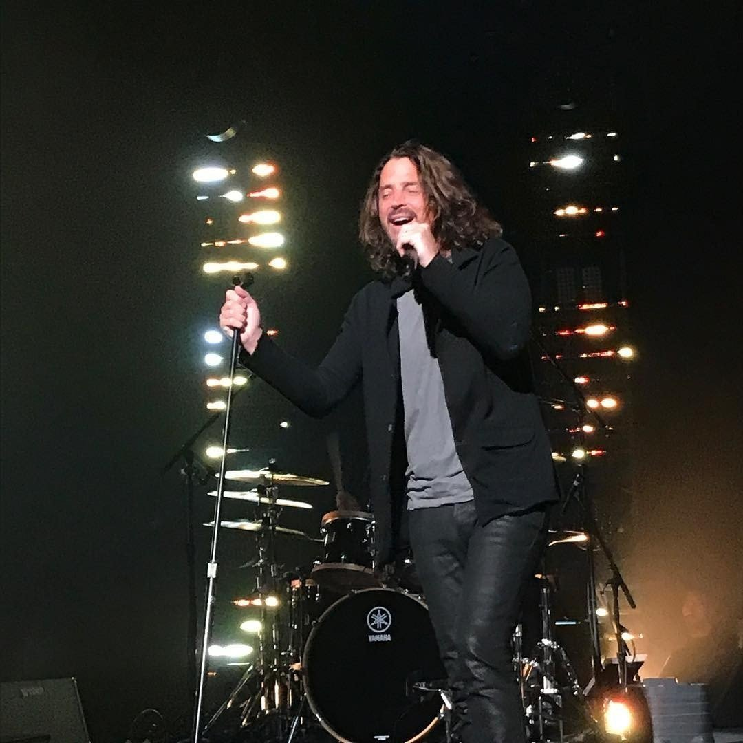 Chris Cornell, lead singer of Soundgarden and Audioslave, died Wednesday night, his representative told CNN. Cornell, 52, was in Detroit performing with Soundgarden, which had embarked on a US tour in April. Photo is  from the Soundgarden show in...