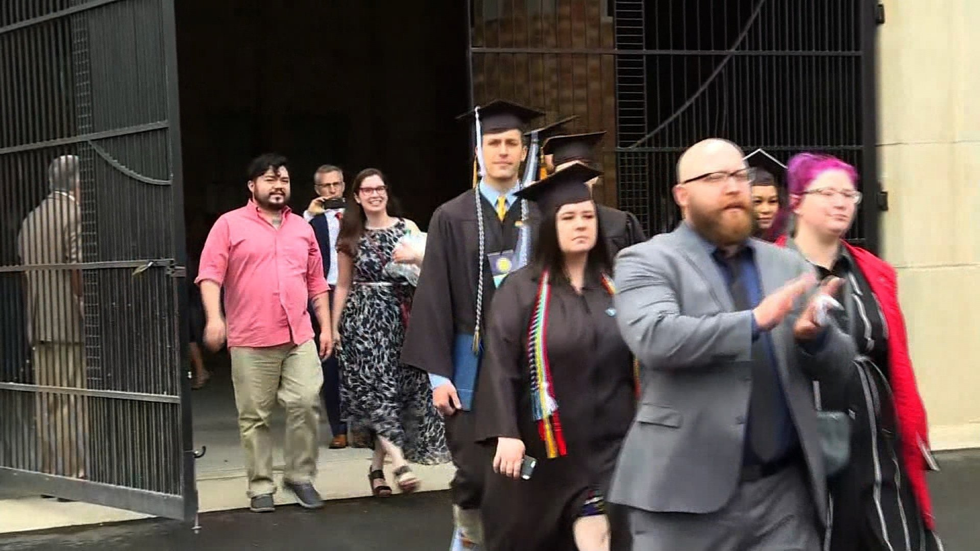 Notre Dame Grads Walk Out During Mike Pence's Commencement Speech