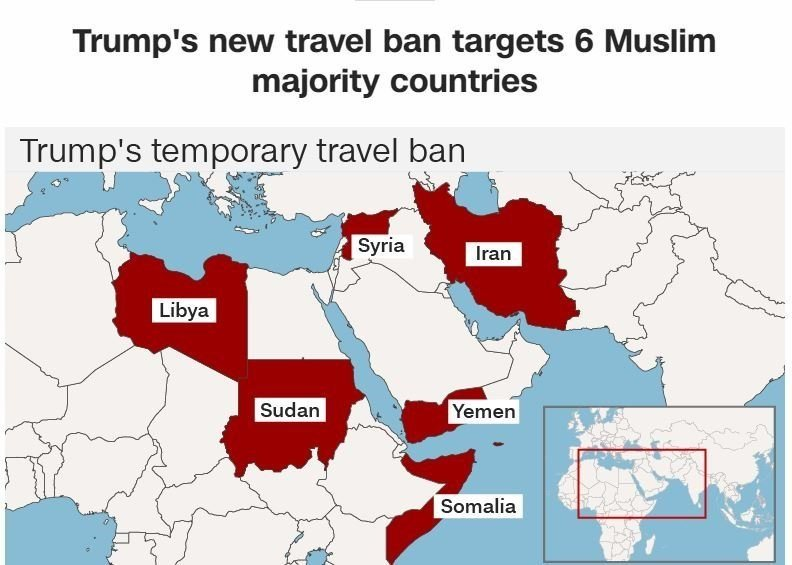 Trump travel ban blocked; fight headed for Supreme Court