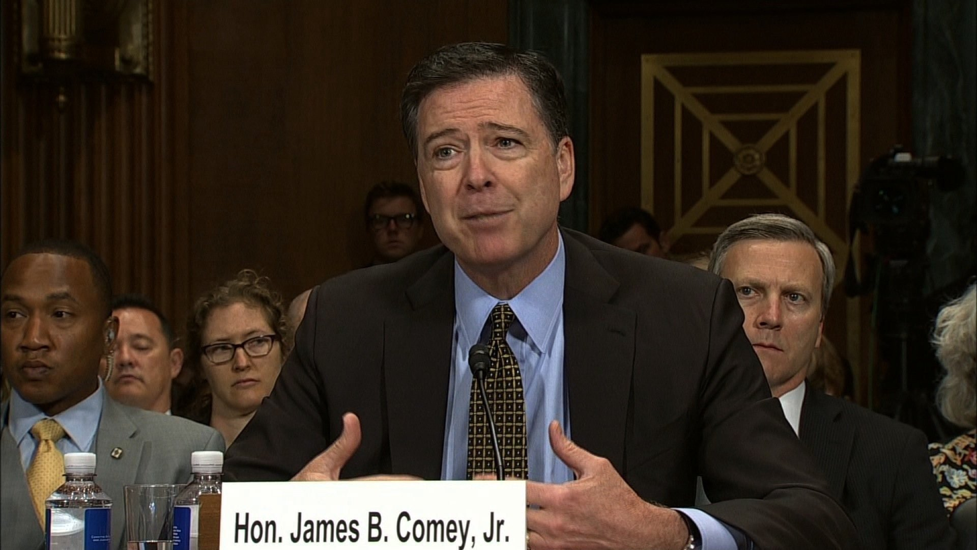Former FBI Director James Comey to testify in Senate June 8