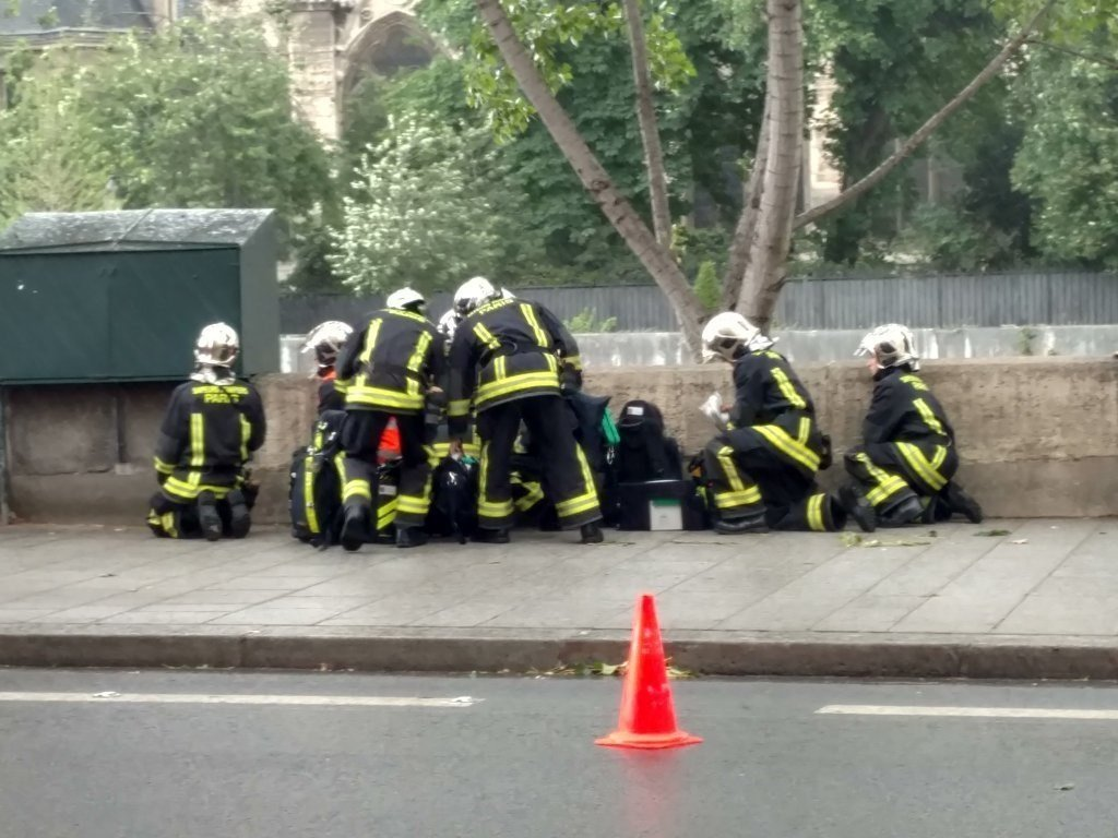 Gunshots Fired At Notre-Dame In Paris After Attack On Policeman