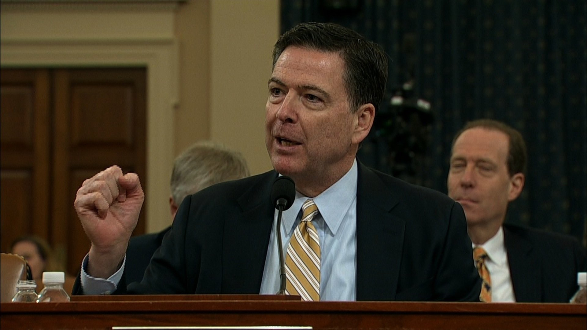 James Comey lets his emo side loose during his testimony