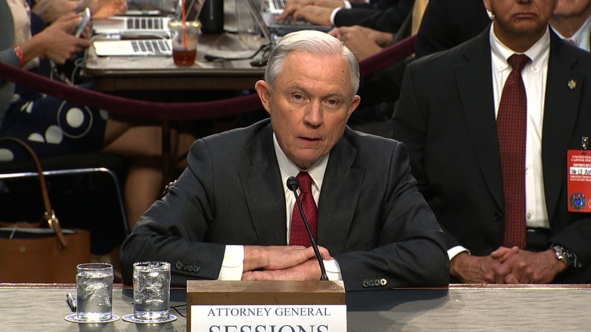 Attorney General Sessions responds to Comey hearing, testifies in Russian Federation probe