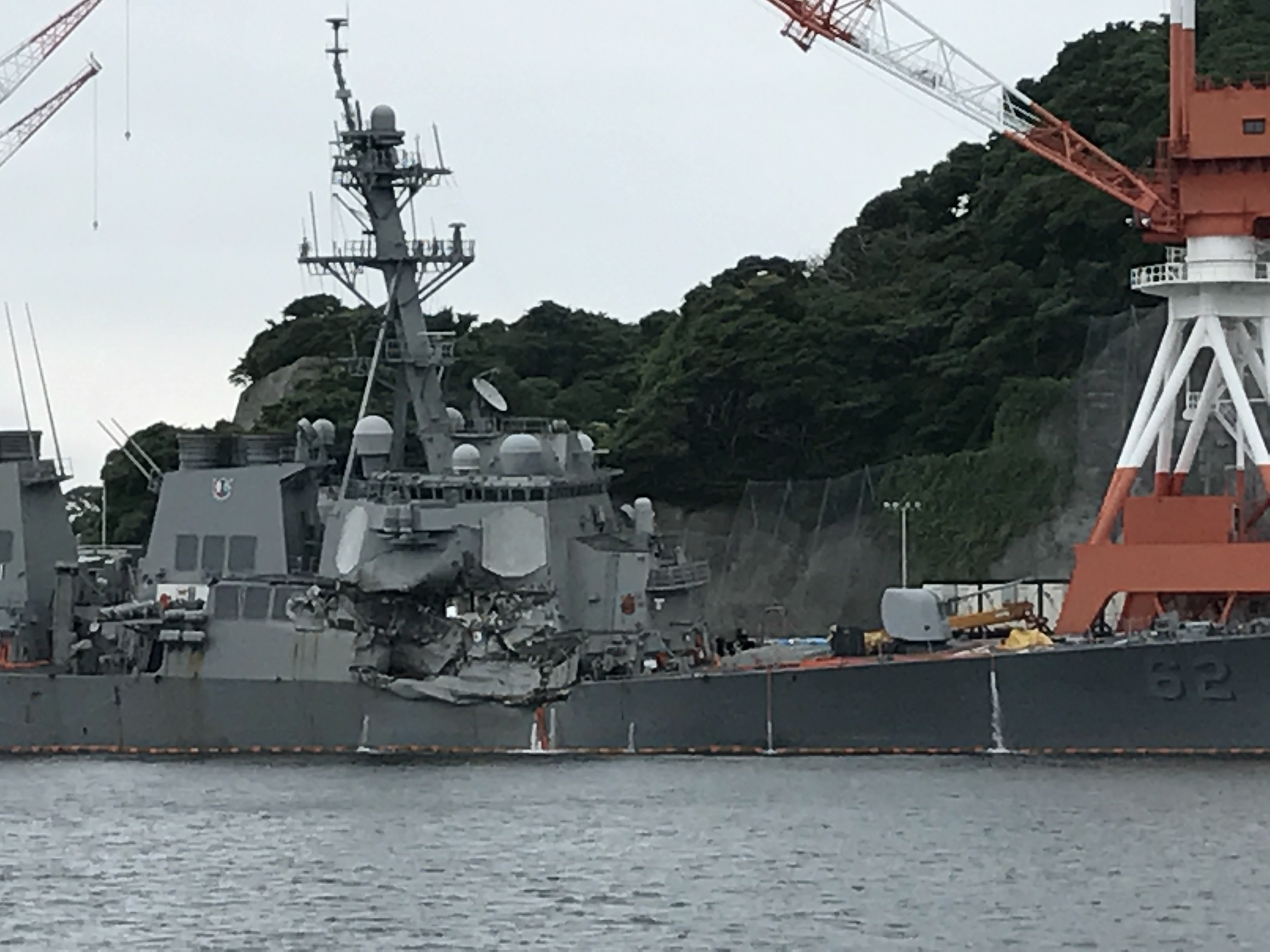 Navy Identifies Sailors Killed in Collision