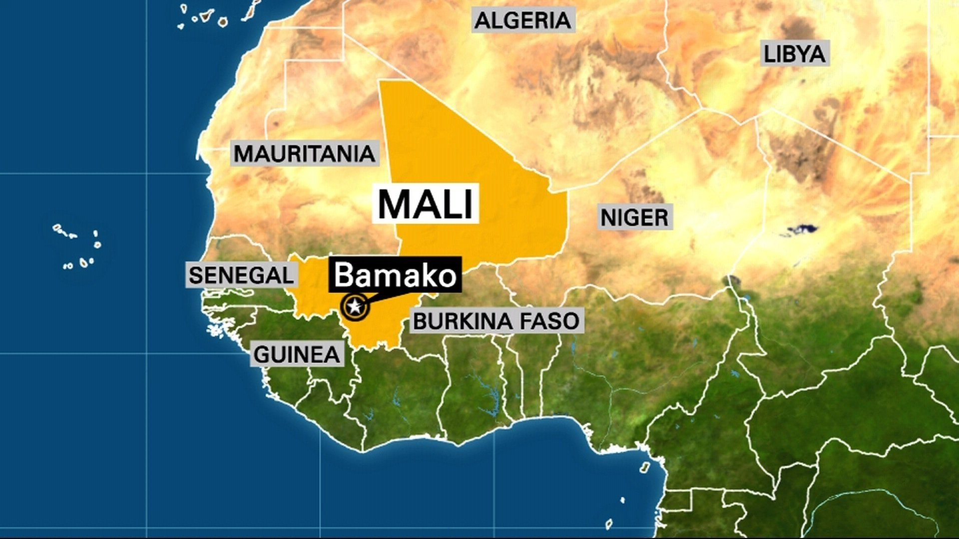 Terror attack under way at resort popular with westerners in Mali