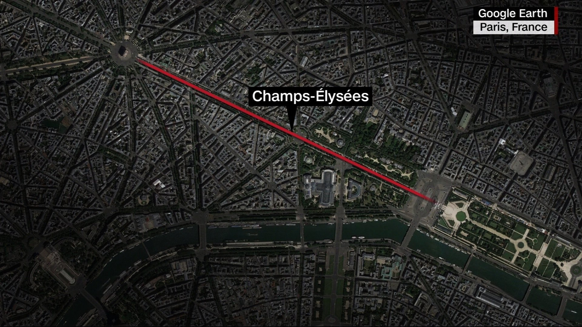 Terror probe launched into incident on Champs Elysees