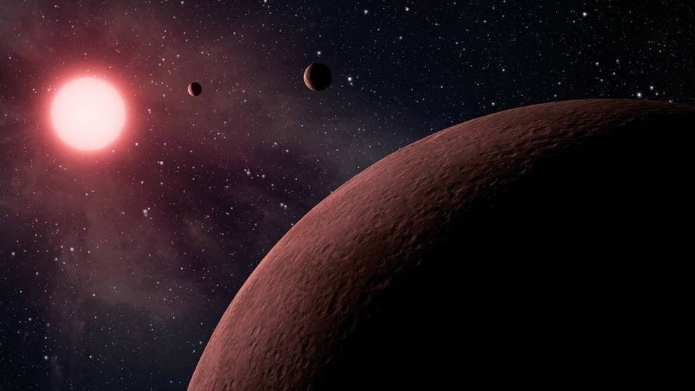 Ten of the planets are potentially rocky, close to the size of Earth and within the habitable zone of the stars they orbit -- meaning they could support liquid water on their surface.