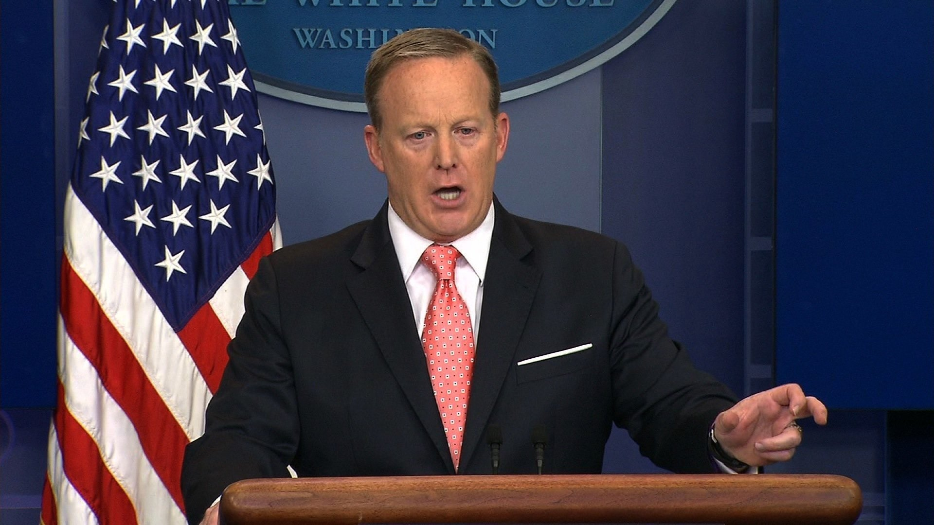 Spicer took questions for less than 15 minutes that day, which is not atypical lately. Brevity has become perhaps the defining feature of the briefing these days.  White House press secretary Sean Spicer said June 6, 2017 President Donald Trump's...