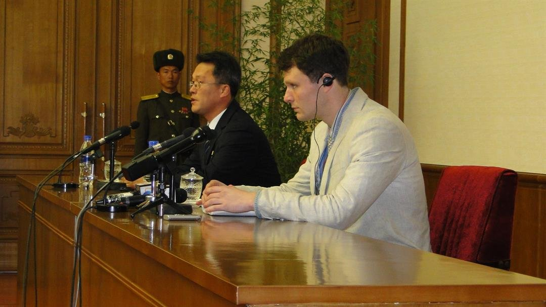 Otto Warmbier the American college student who spent 17 months in detention in North Korea died