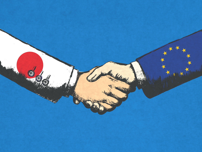 Japan, EU set to seal free trade pact